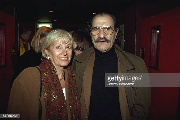 Gerard Hernandez and his wife at the Eldorado Theater