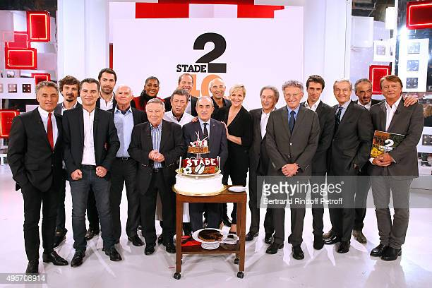 Gerard Holtz Arnaud Tsamere Laurent Luyat Ben JeanPaul Ollivier MarieJose Perec Pierre Fulla Chef Christian Constant Christian Prudhomme Jean...