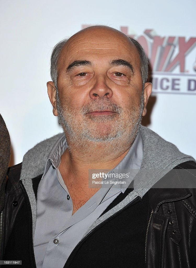 Gerard Jugnot attends the 'Asterix & Obelix: Au Service De Sa Majeste' premiere at Le Grand Rex on September 30, 2012 in Paris, France.