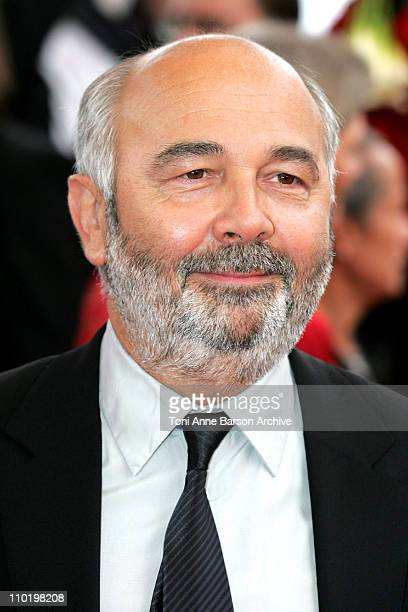 Gerard Jugnot during 2004 Cannes Film Festival 'The Bad Education' Opening Night at Palais Du Festival in Cannes France