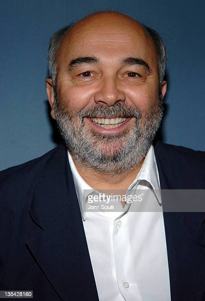 Gerard Jugnot during 'Les Choristes' Los Angeles Screening at AFI/Mark Goodson Screening Room in Hollywood California United States