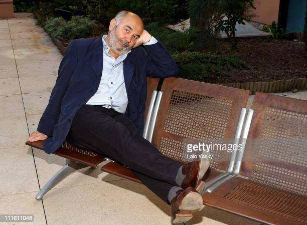 Gerard Jugnot during 'Monsieur Batignole' Photocall at The French Institute in Madrid Spain