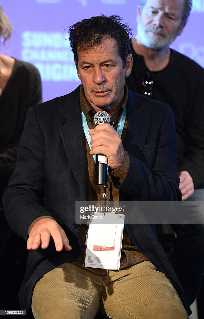 Gerard Lee attends the press conference for Sundance Channel original series 'Top of the Lake' on January 21, 2013 in Park City, Utah.