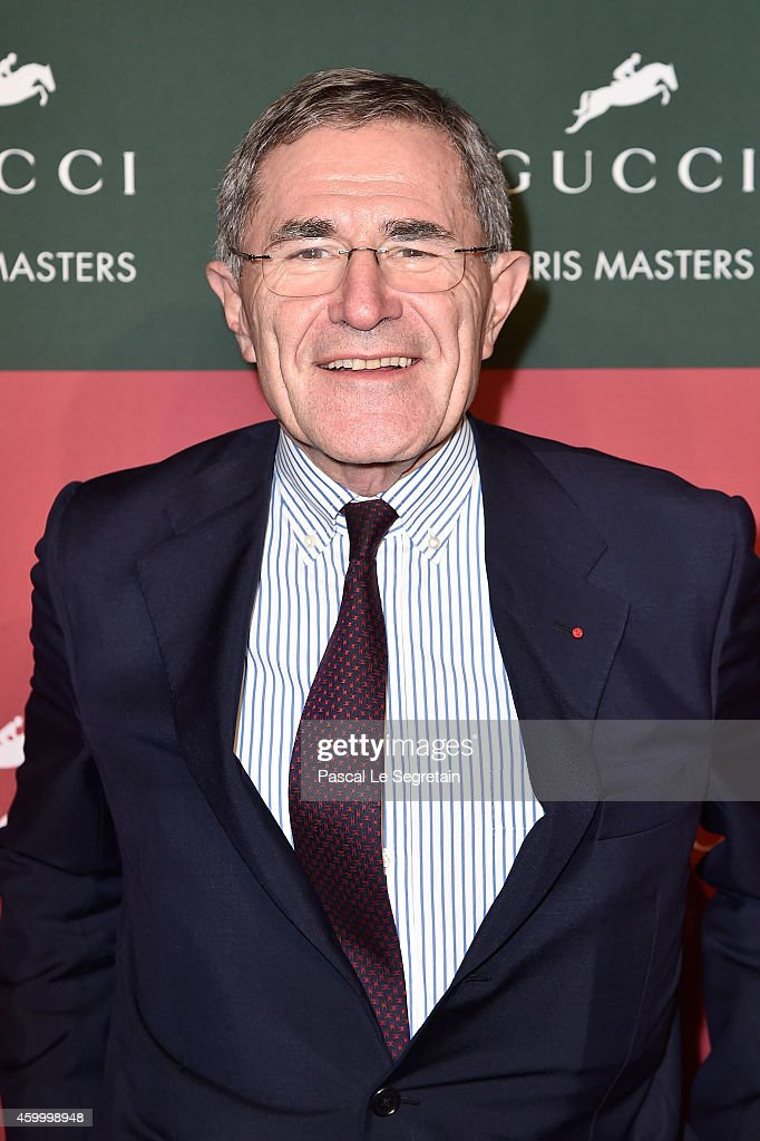 <a gi-track='captionPersonalityLinkClicked' href=/galleries/search?phrase=Gerard+Mestrallet&family=editorial&specificpeople=585719 ng-click='$event.stopPropagation()'>Gerard Mestrallet</a> attends Day 2 of the Gucci Paris Masters 2014 on December 5, 2014 in Villepinte, France.