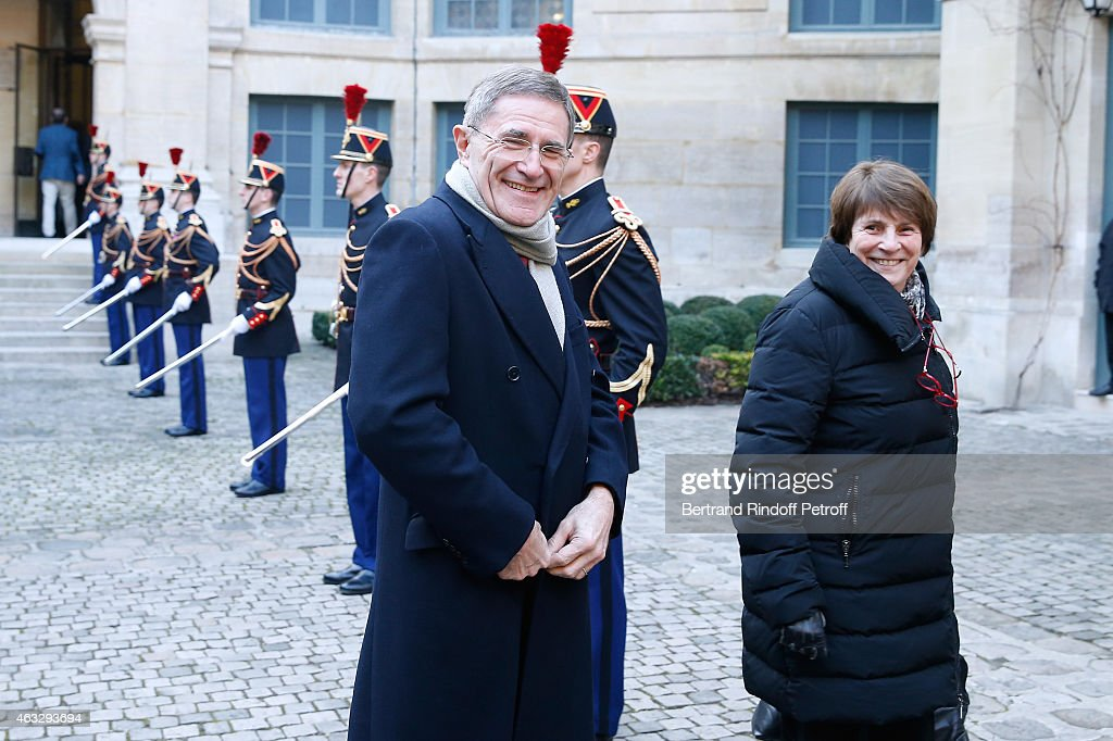 Xavier Darcos Becomes A Member Of The Academie Francaise : Official Ceremony