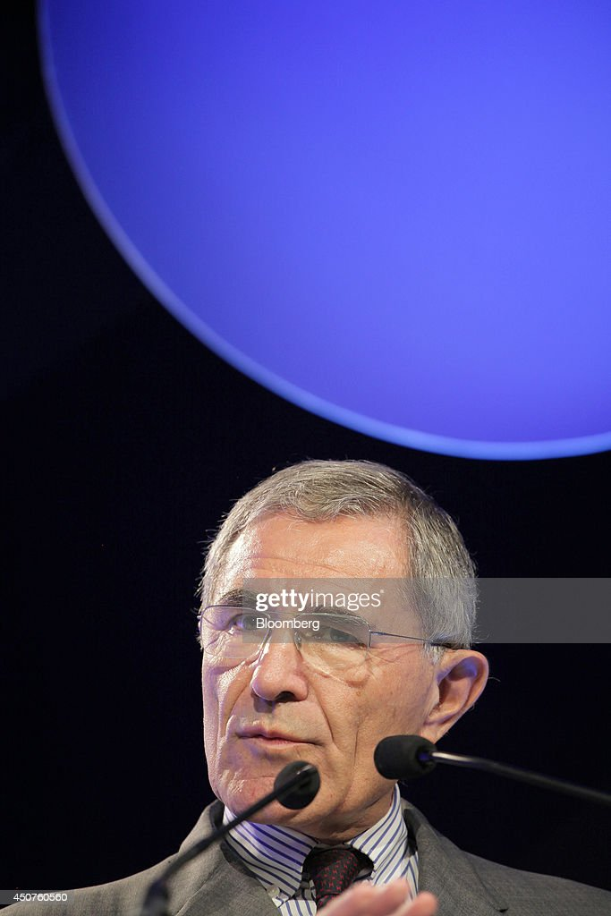 <a gi-track='captionPersonalityLinkClicked' href=/galleries/search?phrase=Gerard+Mestrallet&family=editorial&specificpeople=585719 ng-click='$event.stopPropagation()'>Gerard Mestrallet</a>, chief executive officer of GDF Suez, speaks at the annual symposium of the Union Francaise de L'Electicite (UFE) in Paris, France, on Tuesday, June 17, 2014. Key speakers spoke at the event headlined as the Low Carbon Strategy and Industrial Renaissance; two challenges for the Energy Tranmsition. Photographer: Kosuke Okahara/Bloomberg via Getty Images