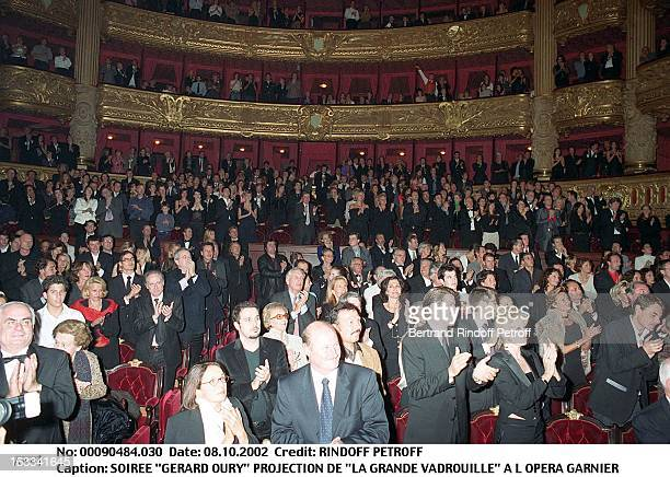 'Gerard Oury' film screening of 'La Grande Vadrouille' at the Garnier opera