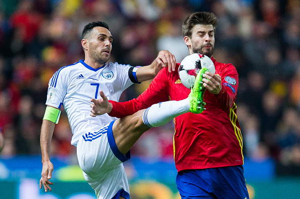 Spain v Israel - FIFA 2018 World Cup Qualifier : News Photo