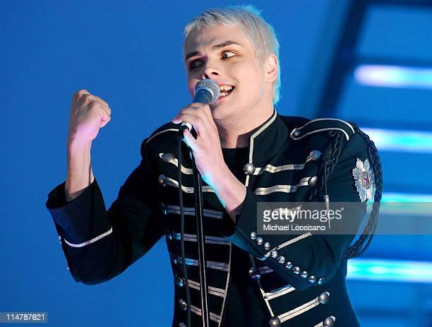 Gerard Way of My Chemical Romance during 2006 MTV Video Music Awards – PreShow at Radio City Music Hall in New York City New York United States