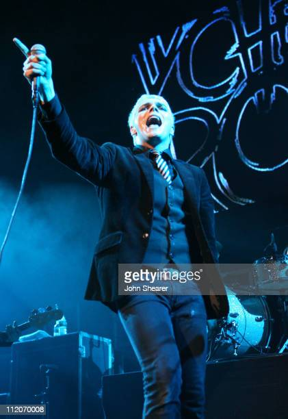 Gerard Way of My Chemical Romance during KROQ Almost Acoustic Christmas 2006 Night 1 Show at Gibson Amphitheater in Universal City California United...