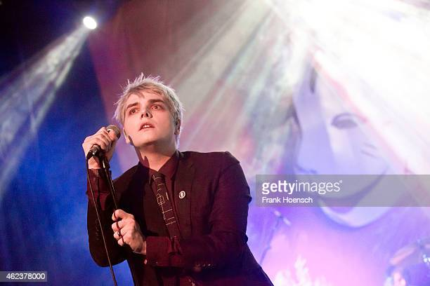 Gerard Way performs live during a concert at the Heimathafen Neukoelln on January 27 2015 in Berlin Germany