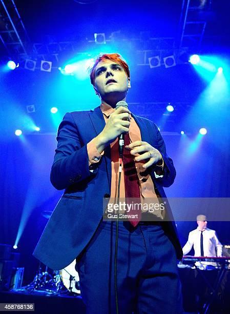 Gerard Way performs on stage at KOKO on November 10 2014 in London United Kingdom