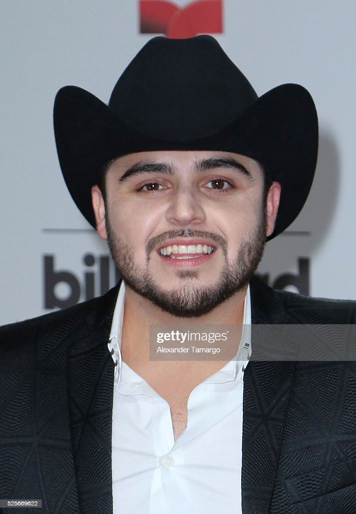 Gerardo Ortiz attends the Billboard Latin Music Awards at Bank United Center on April 28, 2016 in Miami, Florida.