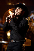 Gerardo Ortiz performs onstage during Telemundo's Latin American Music Awards at the Dolby Theatre on October 8 2015 in Hollywood California