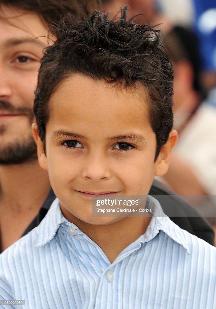 Gerardo Ruiz Esparza at the photocall for 'Abel' during the 63rd Cannes International Film Festival.
