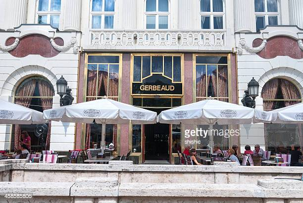 Gerbeaud coffeehouse in Budapest
