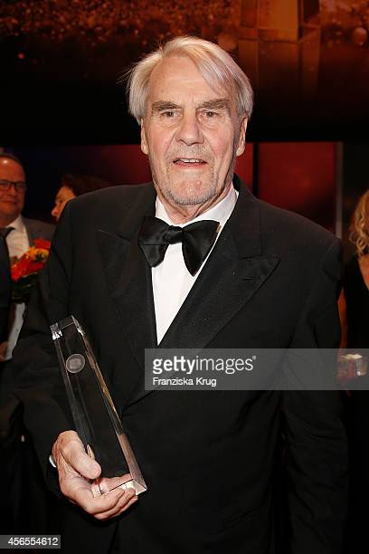 Gerd Ruge attends the Deutscher Fernsehpreis 2014 after show party on October 02 2014 in Cologne Germany