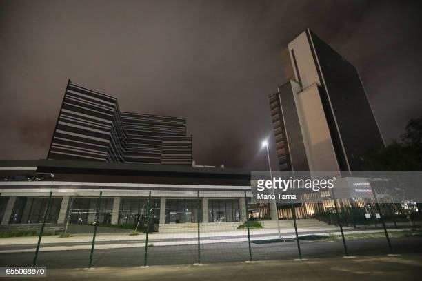 A gereral view of the media center and other locations as they stand mostly abandoned on March 13 2017 in Rio de Janeiro Brazil Seven months after...