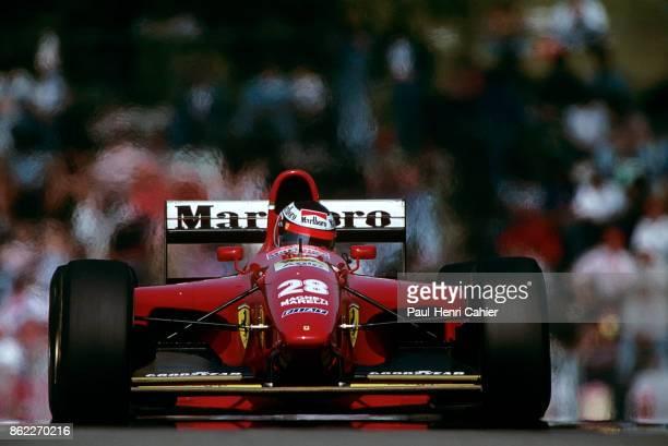 Gerhard Berger Ferrari 412T1B Grand Prix of San Marino Autodromo Enzo e Dino Ferrari Imola 01 May 1994