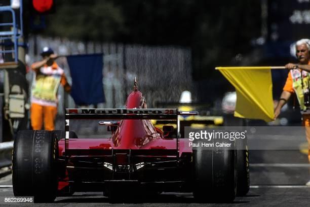 Gerhard Berger Ferrari 412T2 Grand Prix of Italy Autodromo Nazionale Monza 10 September 1995