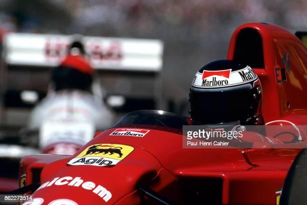Gerhard Berger Ferrari 640 Grand Prix of Hungary Hungaroring 13 August 1989