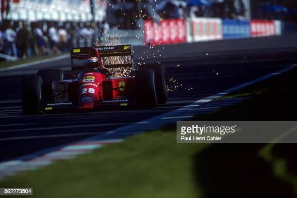 Gerhard Berger Ferrari 640 Grand Prix of Portugal Autodromo do Estoril 24 September 1989