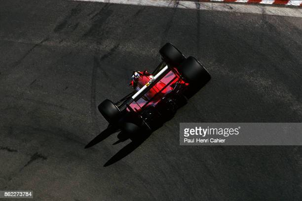 Gerhard Berger Ferrari F1/87/88C Grand Prix of Belgium Circuit de SpaFrancorchamps 28 August 1988
