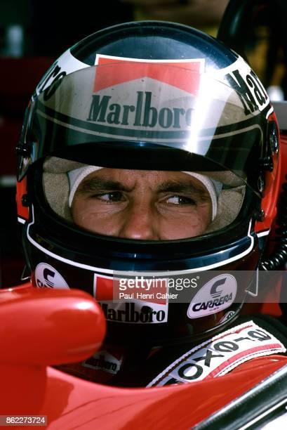 Gerhard Berger Ferrari F1/87/88C Grand Prix of France Circuit Paul Ricard 03 July 1988