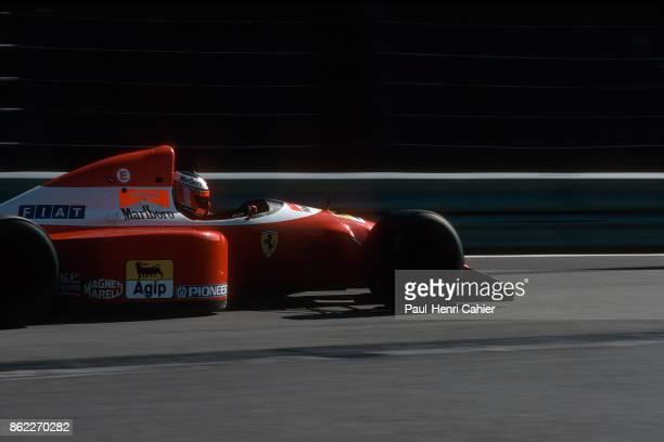 Gerhard Berger Ferrari F93A Grand Prix of Belgium Circuit de SpaFrancorchamps 29 August 1993
