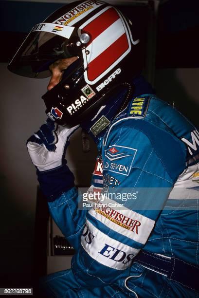 Gerhard Berger Grand Prix of Belgium Circuit de SpaFrancorchamps 25 August 1996
