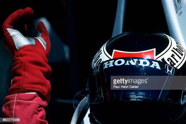 Gerhard Berger McLarenHonda MP4/6 Grand Prix of France Circuit de Nevers MagnyCours 07 July 1991