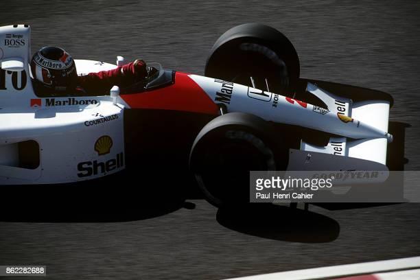Gerhard Berger McLarenHonda MP4/6 Grand Prix of Japan Suzuka Circuit 20 October 1991