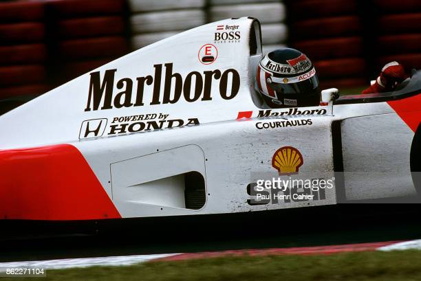 Gerhard Berger McLarenHonda MP4/7A Grand Prix of Canada Circuit Gilles Villeneuve 14 June 1992