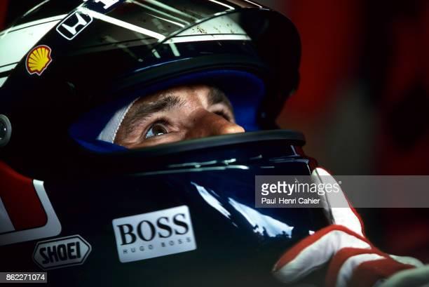 Gerhard Berger McLarenHonda MP4/7A Grand Prix of Great Britain Silverstone Circuit 12 July 1992