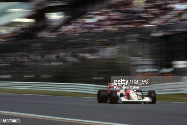 Gerhard Berger McLarenHonda MP4/7A Grand Prix of Japan Suzuka Circuit 25 October 1992