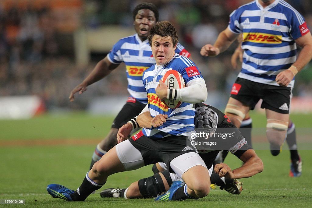Gerhard van den Heever of Western Province during the Absa Currie Cup match between DHL Western Province and The Sharks from DHL Newlands on...