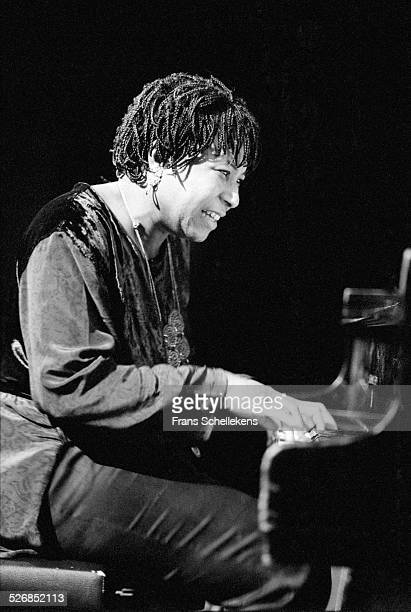 Geri Allen piano performs at the BIM huis on November 8th 1998 in Amsterdam Netherlands