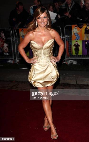 Geri Halliwell arrives at the World Premiere of 'The Boat That Rocked' held at The Odeon Leicester Squareon March 23 2009 in London England