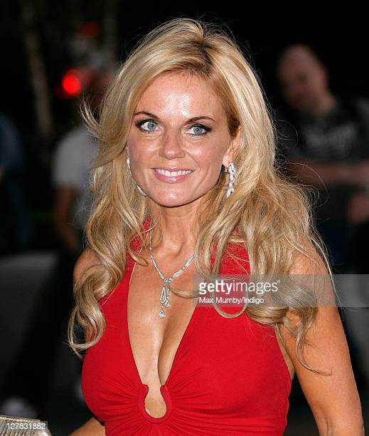 Geri Halliwell arrives for the Boodles Boxing Ball at Park Plaza Westminster Bridge Hotel on October 1 2011 in London England