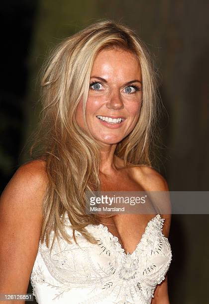 Geri Halliwell attends fundraising event in aid of Raisa Gorbachev Foundation at Hampton Court Palace on September 22 2011 in London England