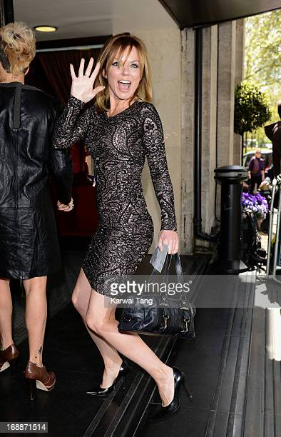 Geri Halliwell attends the Ivor Novello Awards at The Grosvenor House Hotel on May 16 2013 in London England