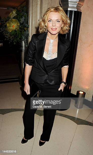 Geri Halliwell attends the Marie Curie Cancer Fundraiser hosted by Heather Kerzner at Claridge's Hotel on May 15 2012 in London England