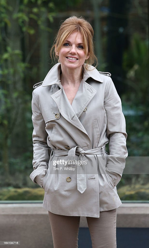 Geri Halliwell attends the opening of London Zoo's new Tiger Territory, a 3.6GPB million project to house Sumatran tigers Jae Jae and Melati, at ZSL London Zoo on March 20, 2013 in London, England.