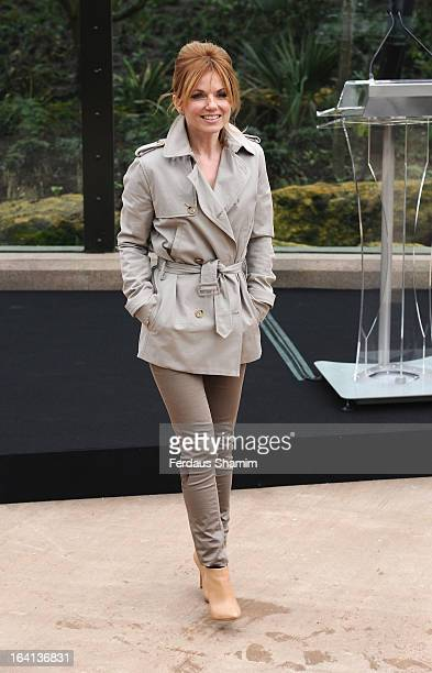 Geri Halliwell attends the opening of London Zoo's new Tiger Territory at ZSL London Zoo on March 20 2013 in London England