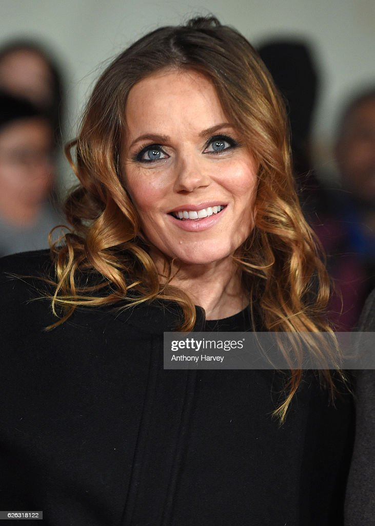 Geri Halliwell attends the World Premiere of 'I Am Bolt' at Odeon Leicester Square on November 28, 2016 in London, England.