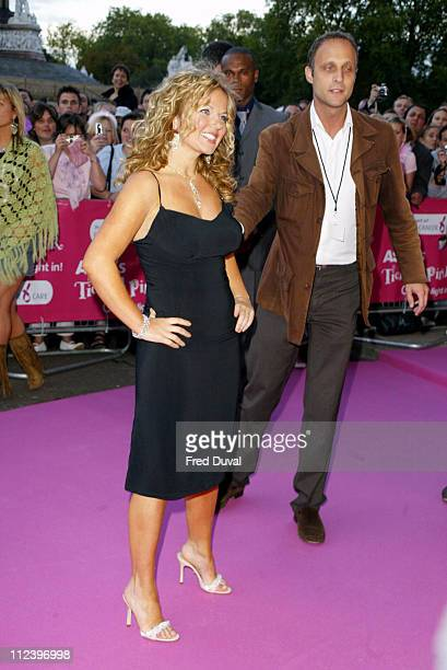 Geri Halliwell during Breast Cancer Care Tickled Pink 'Girls Night In' Arrivals at Royal Albert Hall in London United Kingdom