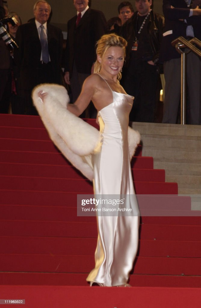 Geri Halliwell during NRJ Music Awards 2002 - Arrivals at Palais des Festivals in Cannes, France.