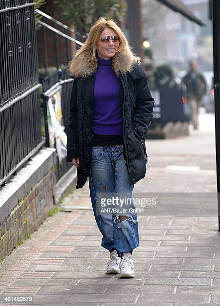 Geri Halliwell is seen on March 18 2013 in London United Kingdom