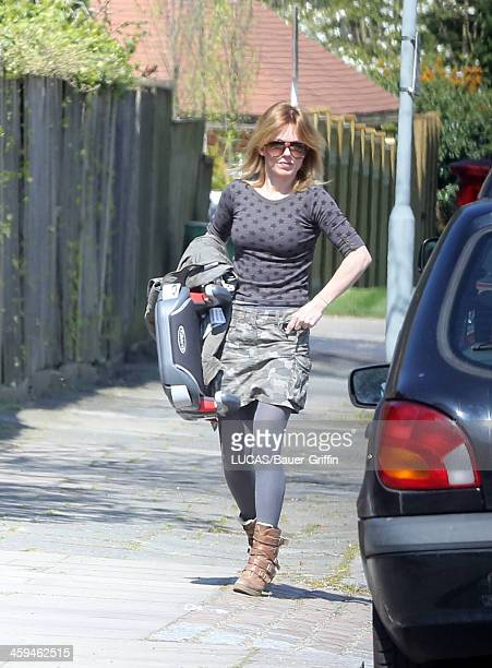 Geri Halliwell is seen on May 05 2013 in London United Kingdom