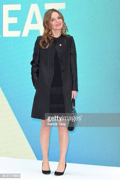 Geri Horner arrives for the Prince's Trust and Samsung Celebrate Success Awards at the London Palladium on March 7 2016 in London England